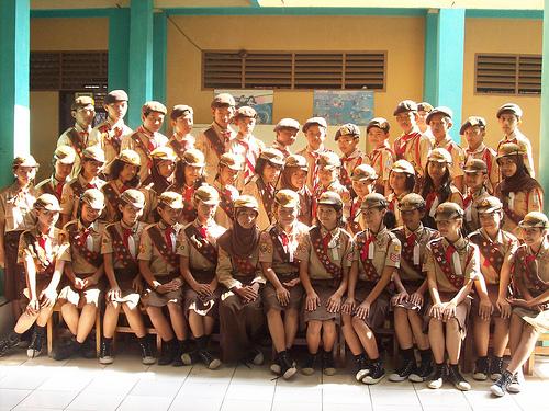Penggalang Gudep Kota Bogor 05.047-05.048
