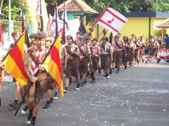 Pasukan Demo SMPN 7 Bogor